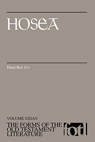 9780802807953: Hosea (Forms of the Old Testament Literature)