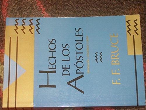 9780802809490: Hechos De Los Apostoles (Nueva Creacion) (Spanish Edition)
