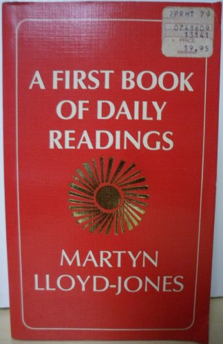 9780802813541: First Book of Daily Readings
