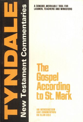 9780802814012: The Gospel According to St. Mark: An Introduction and Commentary (Tyndale New Testament Commentaries)