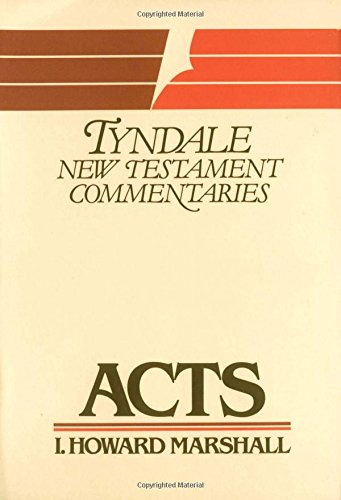 9780802814234: Acts (The Tyndale New Testament Commentaries)
