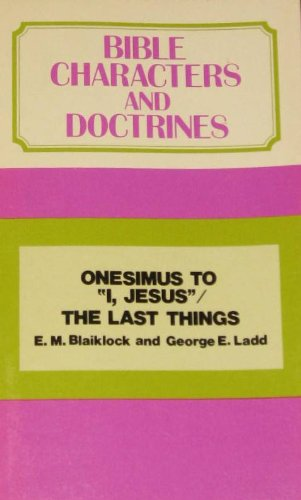 9780802814722: Title: BIBLE CHARACTERS DOCTRINES VOL. 16