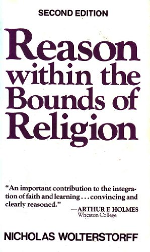 9780802816436: Reason within the bounds of religion