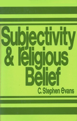 9780802817129: Subjectivity and Religious Belief: An Historical, Critical Study