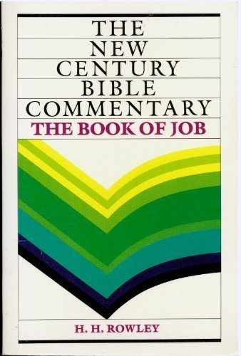 9780802818386: The Book of Job (The New Century Bible Commentary)
