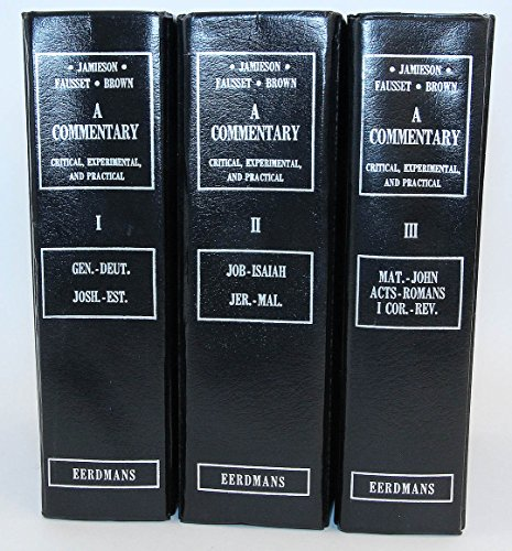 9780802821584: A Commentary: Critical, Experimental, and Practical on the Old and New Testaments (3 Volume Set)
