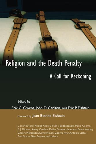 9780802821720: Religion and the Death Penalty: A Call for Reckoning