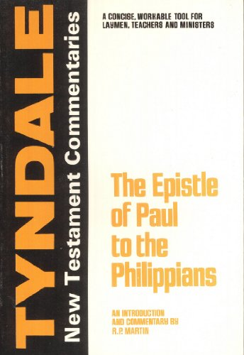 9780802822611: The Epistle of Paul to the Philippians,: An Introduction and Commentary (Tyndale New Testament Commentaries)