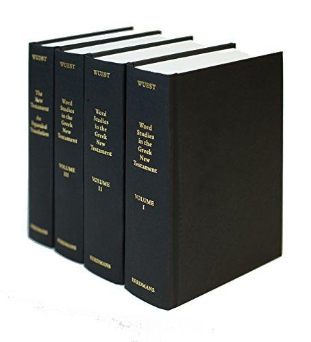 9780802822802: Word Studies from the Greek New Testament (4 volume set)