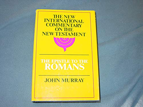 9780802822864: Epistle to the Romans: The English Text With Introduction, Exposition, and Notes