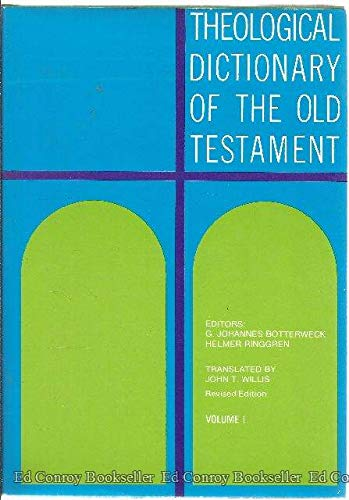 Theological Dictionary of the Old Testament, Vol. 1
