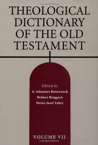 9780802823311: Theological Dictionary of the Old Testament, Vol. 7