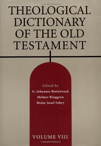 9780802823328: Theological Dictionary of the Old Testament: 8