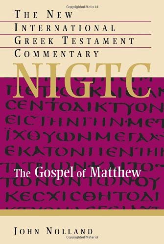 9780802823892: The Gospel of Matthew (The New International Greek Testament Commentary)