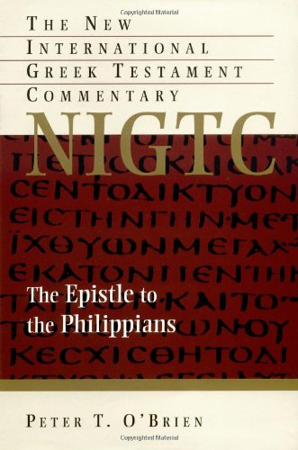 9780802823922: The Epistle to the Philippians (The New International Greek Testament Commentary)
