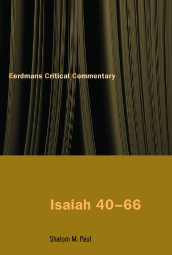9780802826039: Isaiah 40-66: Translation and Commentary (Eerdmans Critical Commentary)