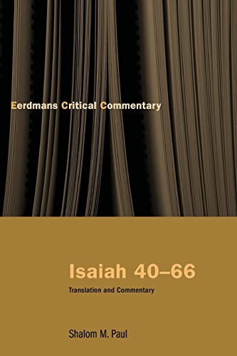 9780802826039: Isaiah 40-66: Translation and Commentary