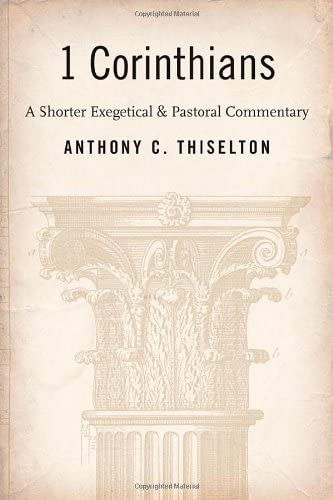 9780802826824: 1 Corinthians: A Shorter Exegetical and Pastoral Commentary