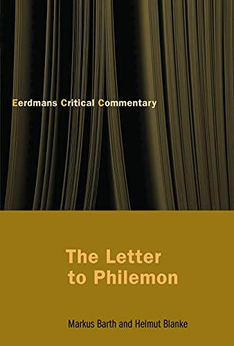 9780802827456: The Letter to Philemon