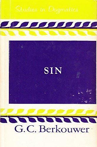 9780802830272: Studies in Dogmatics: Sin