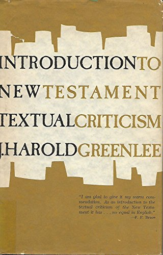 9780802830982: Introduction to New Testament Textual Criticism