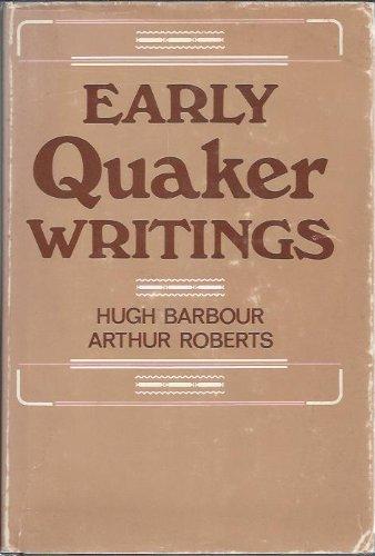 Early Quaker writings, 1650-1700: Barbour, Hugh