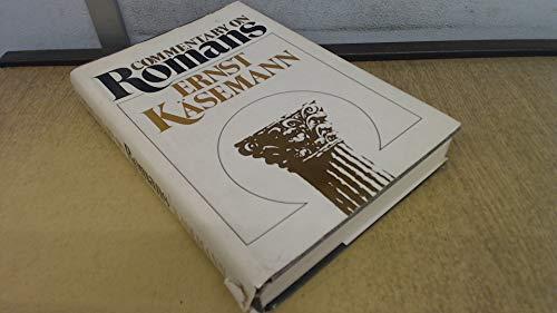 Commentary on Romans: K_semann, Ernst