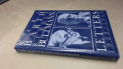 9780802835604: Karl Barth - Rudolf Bultmann Letters, 1922-1966