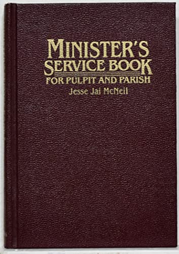9780802835802: Minister's Service Book: For Pulpit and Parish