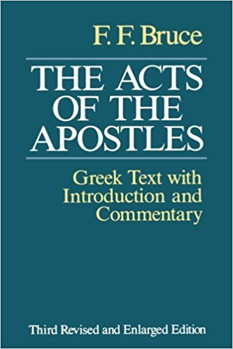 9780802836380: The Acts of the Apostles: The Greek Text With Introduction and Commentary