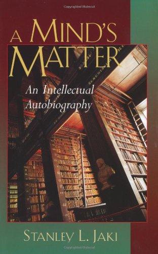 9780802839602: A Mind's Matter: An Intellectual Autobiography