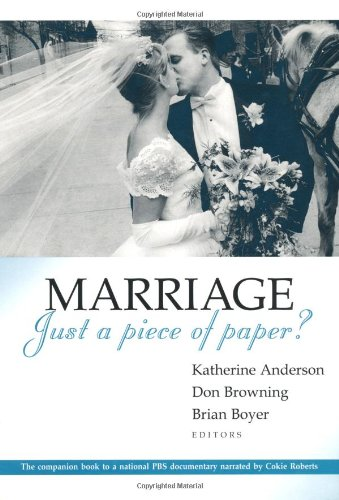 9780802839763: Marriage, Just a Piece of Paper?
