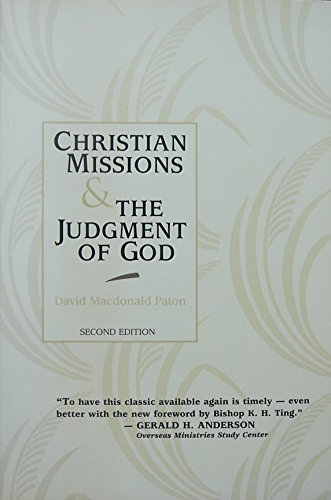 9780802840875: Christian Missions and the Judgment of God