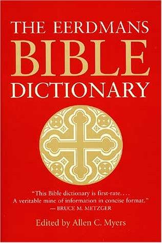 9780802842503: The Eerdmans Bible Dictionary