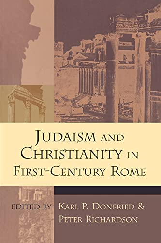 9780802842657: Judaism and Christianity in First-Century Rome (Studying the Historical Jesus)