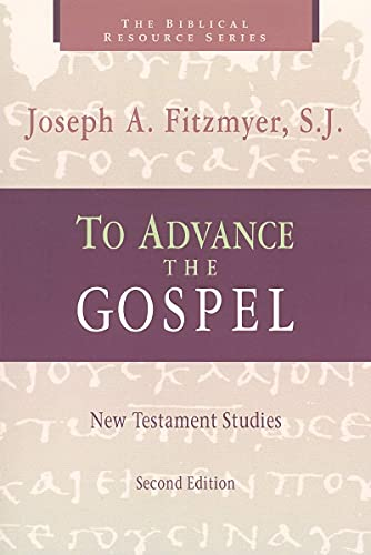 9780802844255: To Advance the Gospel: New Testament Studies (Biblical Resource)