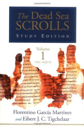 9780802844934: The Dead Sea Scrolls Study Edition