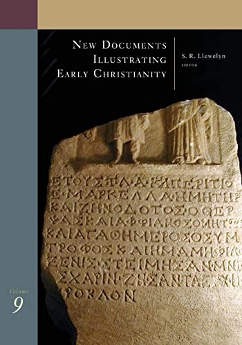 9780802845191: New Documents Illustrating Early Christianity, 9: A Review of the Greek Inscriptions and Papyri Published in 1986-87