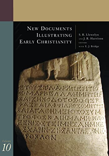 9780802845207: New Documents Illustrating Early Christianity: Volume 10: Greek and Other Inscriptions and Papyri Published 1988-1992