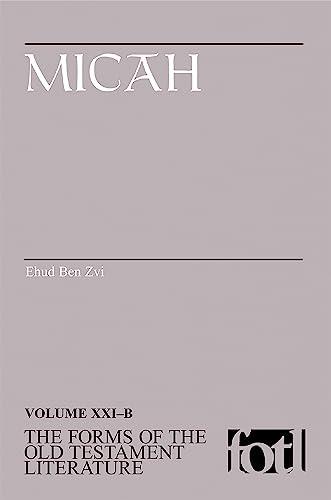 Micah: Ehud Ben Zvi