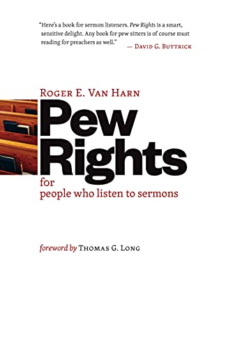 9780802847843: Pew Rights: For People Who Listen to Sermons