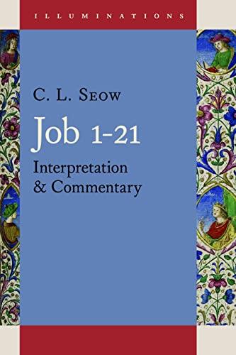 9780802848956: Job 1 - 21: Interpretation and Commentary (Illuminations)