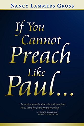 9780802849380: If You Cannot Preach Like Paul