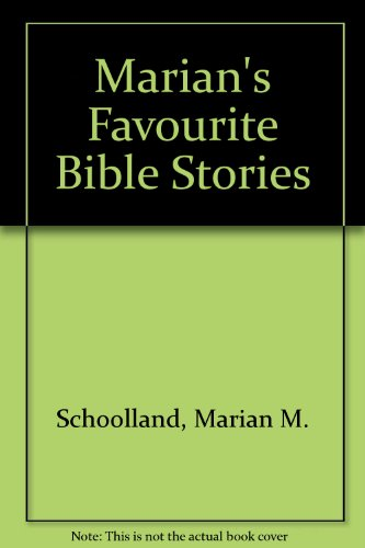 9780802850027: Marian's Favourite Bible Stories