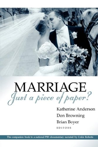 9780802861658: Marriage - Just a Piece of Paper?