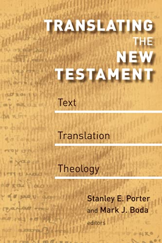 9780802863775: Translating the New Testament: Text, Translation, Theology