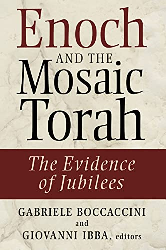 9780802864093: Enoch and the Mosaic Torah: The Evidence of Jubilees