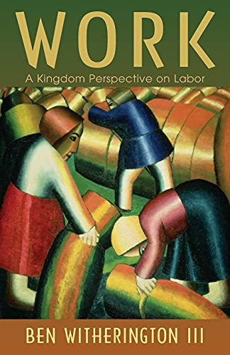 """Work 9780802865410 Most Christians spend most of their waking hours working, yet many regard work as at best a necessary evil ― just one more unfortunate by-product of humanity's fall from grace. Not so, says Ben Witherington III, and in Work: A Kingdom Perspective on Labor, he considers work as neither the curse nor the cure of human life but, rather, as something good that God has given us to do. In this brief primer on the biblical theology and ethics of work, Witherington carefully unpacks the concept of work, considering its relationship to rest, play, worship, the normal cycle of human life, and the coming Kingdom of God. Work as calling, work as ministry, work as a way to make a living, and the notably unbiblical notion of retirement ― Witherington's Work engages these subjects and more, combining scholarly acumen with good humor, common sense, cultural awareness, and biblically based insights from Genesis to Revelation. """"Ben Witherington has given the whole people of God something desperately needed to make sense of Monday to Friday ― a theology of work that breaks down the heretical sacred-secular distinction. . . . Offers a work-view and life-view that, if embraced, would revitalize the mission of God's people in the world. It's that good."""" ― R. Paul Stevens author of The Other Six Days and Taking Your Soul to Work """"Conducting a critical dialogue with the theological voices of our day, drawing upon the wisdom of the Christian tradition, and offering a sensitive reading of New Testament parables, Witherington delivers sound counsel on the Kingdom meaning of work and its implications for our lives today."""" ― Lee Hardy author of The Fabric of This World"""