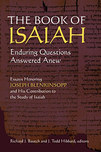 9780802867735: The Book of Isaiah: Enduring Questions Answered Anew