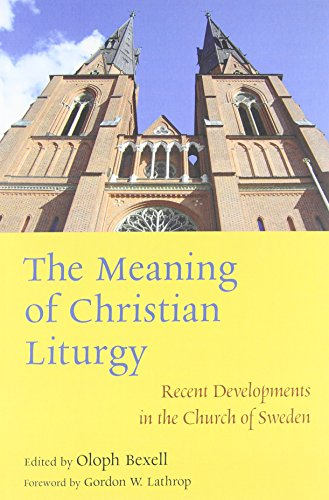9780802868480: The Meaning of Christian Liturgy: Recent Developments in the Church of Sweden